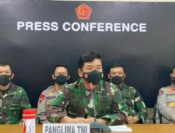 Panglima TNI Nyatakan Bahwa Kapal Selam KRI Nanggala-402 Telah Tenggelam