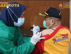 Polres Metro Bekasi Kota Kembali Vaksinasi Tahap II