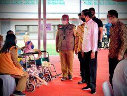 Presiden RI Kunjungi Stadion Patriot Candrabhaga, Sebanyak 4.500 Orang Mengikuti Vaksinasi