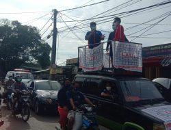 Masuk Zona Merah, Wakil Ketua DPRD Kab. Bekasi Turun ke Jalan Himbau Masyarat Tetap Jaga Prokes