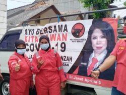 Cegah Covid-19 Anggota Dewan dari Fraksi PDIP Terus Lakukan Aksi Sosial, Ayo Kita Vaksin Berantas Corona!