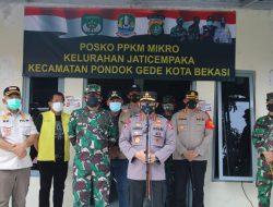 Panglima TNI dan Kapolri Apresiasi 3 Pilar Kota Bekasi dalam Penanganan Covid 19