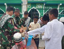 Satgas TNI Adakan Kegiatan Jumat Berkah