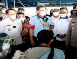 Pemda Bekasi Apresiasi Polri dan FSPMI Gelar Vaksin di PT. Epson Industry