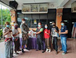 DPC Taruna Merah Putih Kota Bekasi Bagikan Paket Sembako