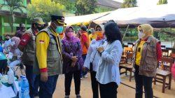 Menteri PPPA Tinjau Penyelenggaraan Vaksin anak di Al-azhar dan SMPN 5 Kota Bekasi