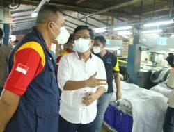 Wawakot Bekasi Tinjau Prokes dan Vaksinasi di PT. Mangul Jaya Bantargebang