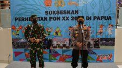 Cek Kesiapan Akhir, Panglima TNI Didampingi Pangdam XVII/Cenderawasih Tinjau Pengamanan PON XX