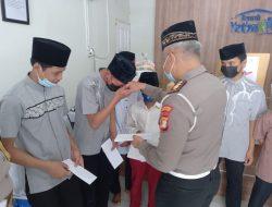 Peringati HUT Lalu Lintas, Polres Metro Bekasi Kota Kunjungi Yayasan Yatim Piatu