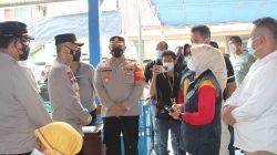 Wakapolda Metro Jaya Kunjungi Vaksinasi Merdeka di Bekasi Timur