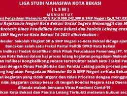 Pengadaan Meubelair SD dan SMP Tahun 2021 Diduga tidak Dilengkapi Penghapusan Aset
