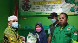 Menjelang Muscab DPC PPP Kota Bekasi Berikan Santunan Anak Yatim Terdampak Covid-19