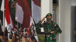 Pangdam XVII/Cenderawasih Pimpin Upacara Sertijab dan Tradisi Korps Pejabat Kodam