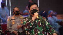 Panglima TNI dan Kapolri Hadiri Bhakti Sosial Alumni Akabri Altar 89