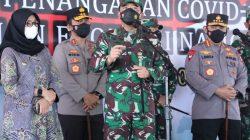 Panglima TNI Tinjau Serbuan Vaksinasi di RSNU Banyuwangi